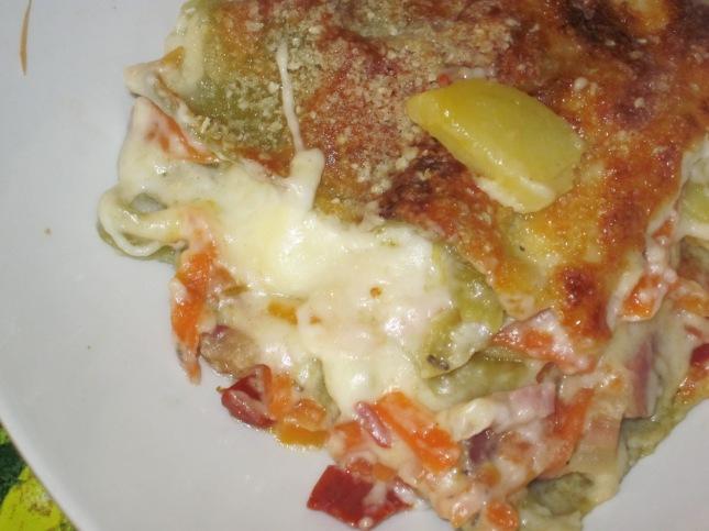 Lasagne Carote e Patate