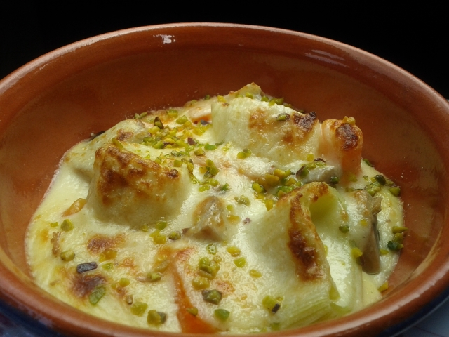 Verdure in Gratin di Salsa Mornay