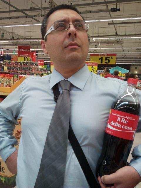 Anche la Coca Cola mi ha riconosciuto!
