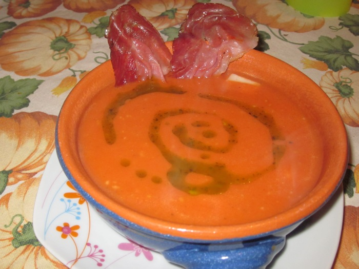 Crema di Pomodoro al Profumo di Basilico
